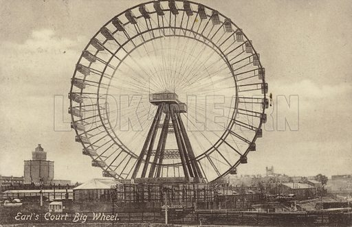The Big Wheel at Earl's Court, London