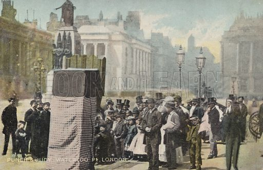 Punch and Judy, Waterloo Place, London