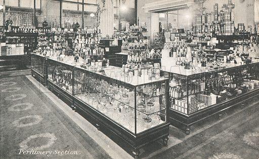 Perfumery section in Selfridges department store