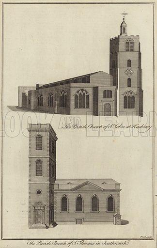 Church of St John, Hackney and Church of St Thomas, Southwark.