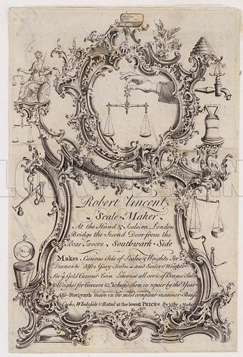 Scale Maker, Robert Vincent, trade card