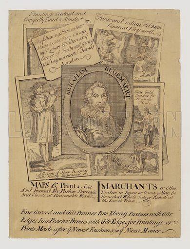 Map and Printseller, trade card