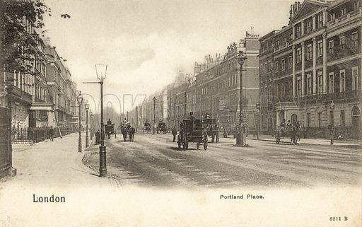 London, Portland Place