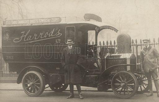 Early Harrod's van