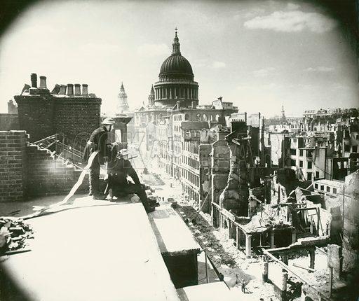 Blitz, London, WW2.