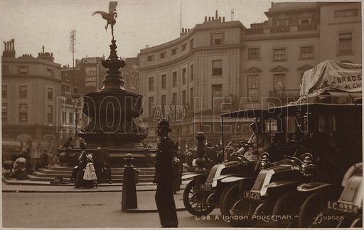 London Policeman, Piccadilly Circus