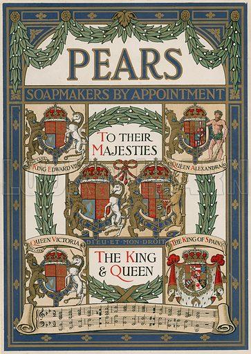 Pears, advertisement on the Coronation