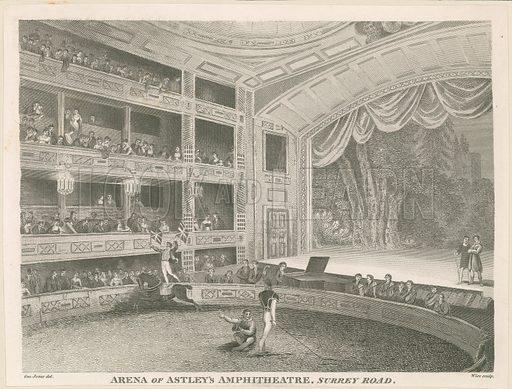 Arena of Astley's Amphitheatre, Surrey Road.