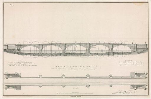 Plan for New London Bridge.
