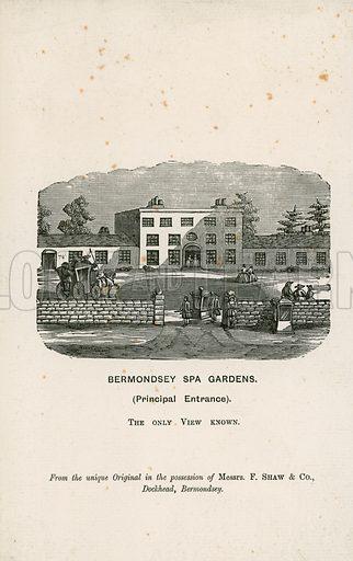 Bermondsey Spa Gardens.