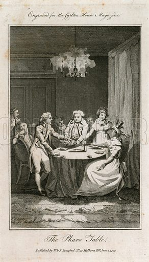 The Pharo table. Published 1 June 1792.