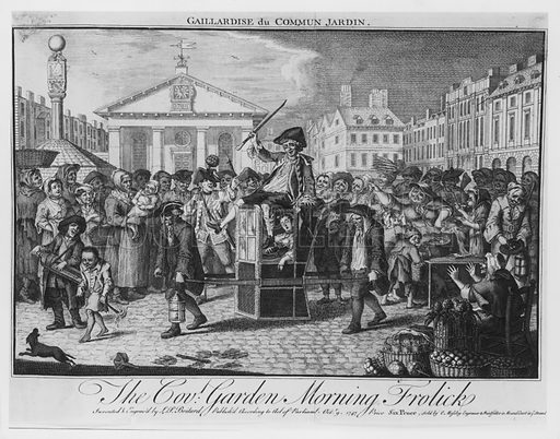 The Covent Garden Morning Frolick. Published 1747.
