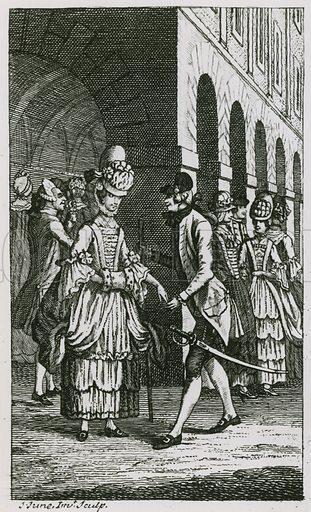 Illustration in Harris's List, edition of 1773.