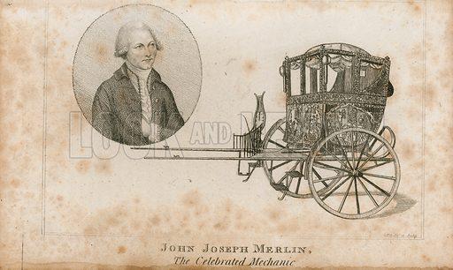 John Jospeph Merlin, the celebrated mechanic.