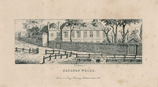 Sadler's Wells, before being replaced by the Musick House and Spa.