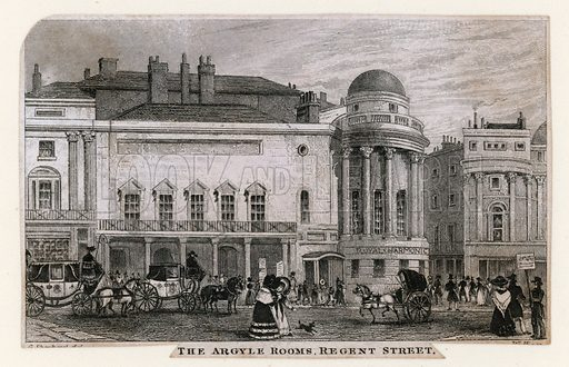 The Argyle Rooms, Regent Street.