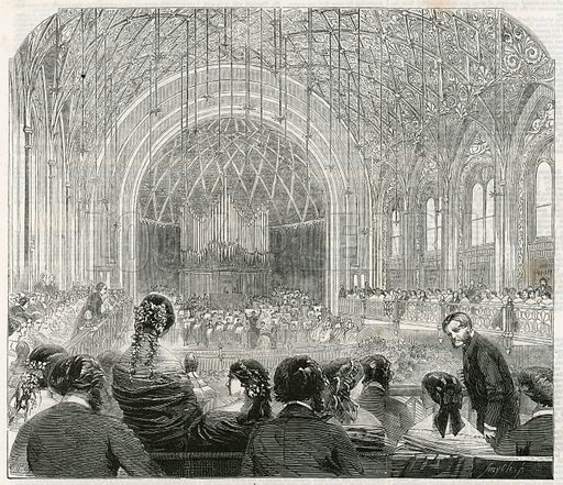 St James's Music Hall. From the Illustrated London News, 10 April 1858.