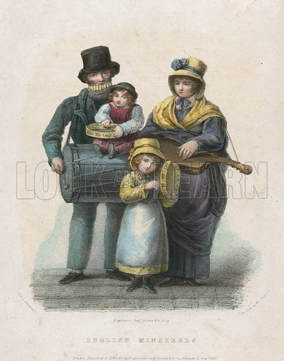English minstrels. Published 1829.