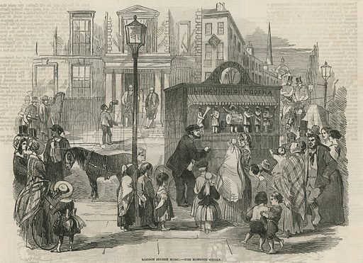 The Monster Organ. From the Illustrated London News, 19 December 1846.