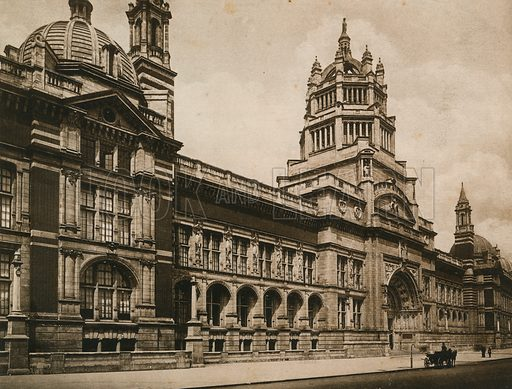 The Victoria and Albert Museum, 1899. Photograph.