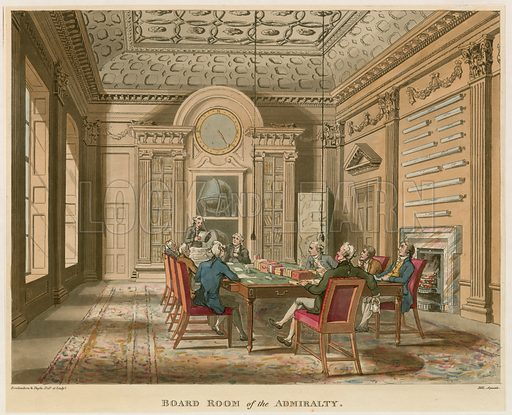 Board Room of the Admiralty.