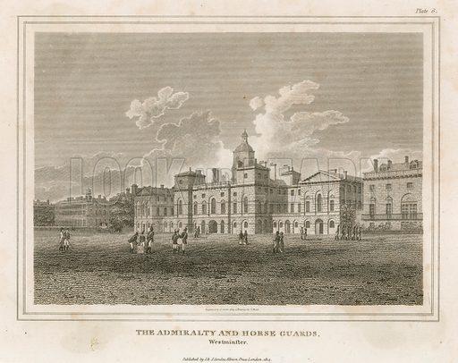Horse Guards. Published 1814.