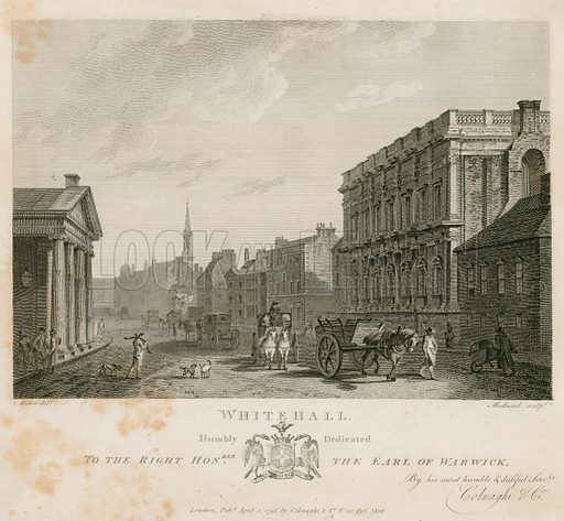 Parliament Street. Published 1796.
