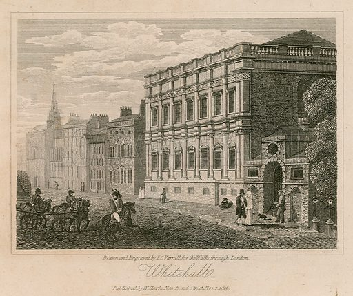 Banqueting House. Published 1816.