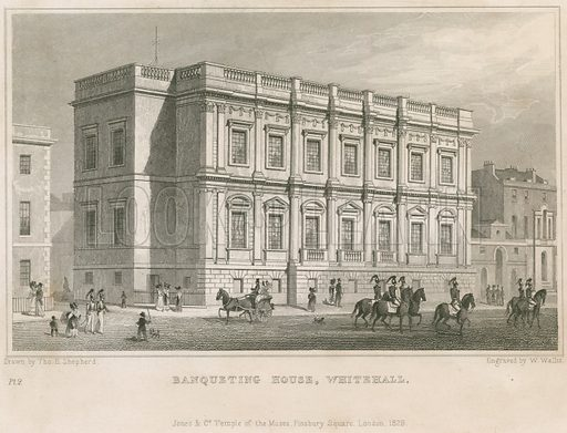 Banqueting House. Published 1829.
