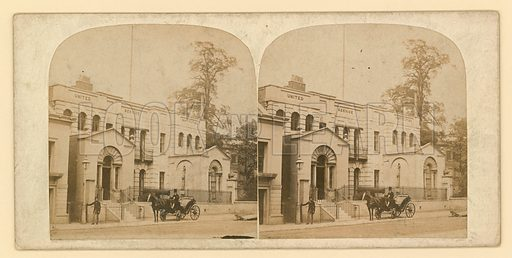 Whitehall Court or Yard, Vanbrugh House, demolished 1898.