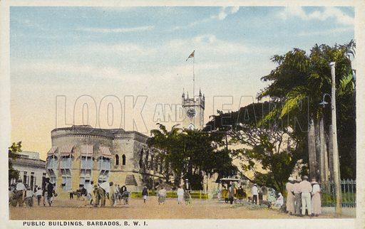 Public Buildings, Barbados.