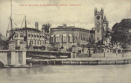 Public Buildings, Chamberlain Bridge, Barbados.