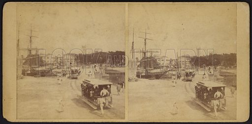 Barbados, stereoscopic view.