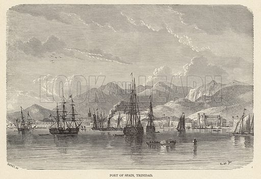 Port of Spain, Trinidad.