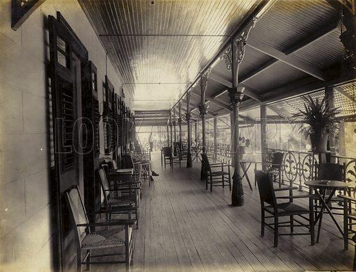 Marine Hotel, Veranda, 1895.