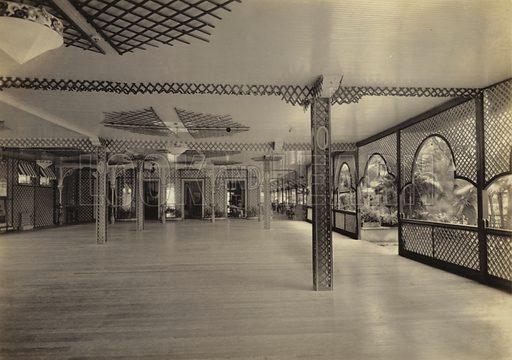 Marine Hotel, Ballroom, 1920.