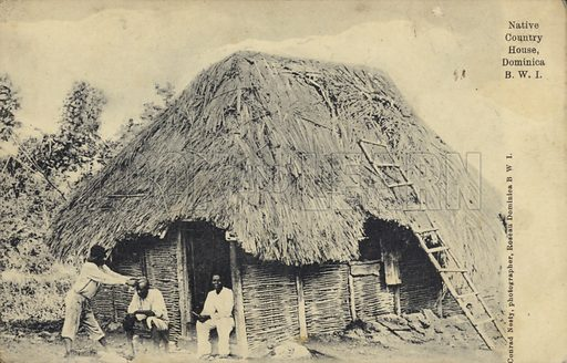 Native country house, Dominica.