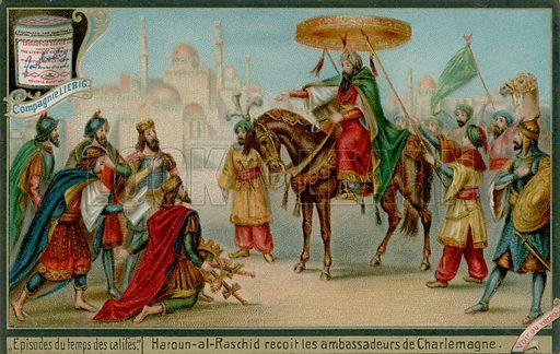 Charlemagne, picture, image, illustration