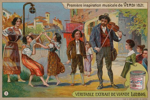 Verdi, picture, image, illustration
