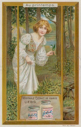 Girl with Snowdrops
