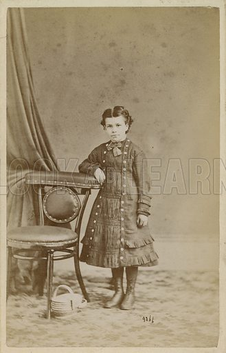 Photograph of a young girl.