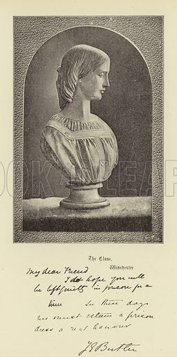 Mrs Josephine Butler. Illustration for Portraits and Autographs edited by WT Stead (1890).