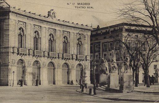 Teatro Real (Royal Theatre), Madrid.