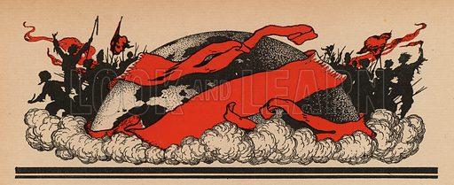 The Third Communist International, 1919-1943. Illustration from Histoire des Soviets (Paris, c1925).