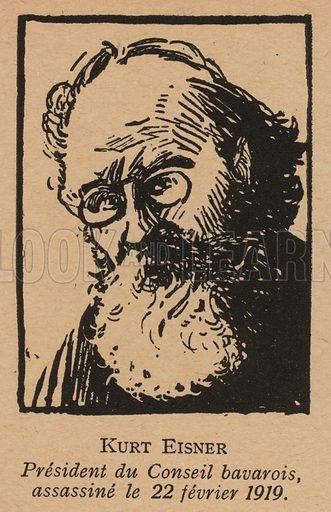 Kurt Eisner (1867-1919), German socialist revolutionary and Minister President of the People