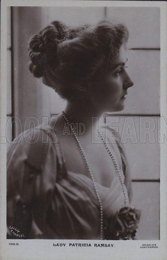 Lady Patricia Ramsay. Postcard, 20th century.