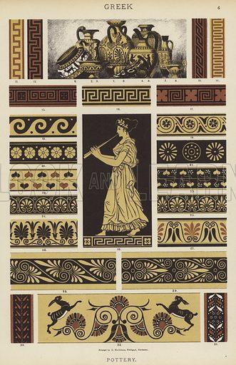 Greek, Pottery