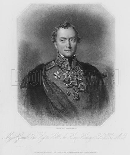 Sir Henry Hardinge, KCB, MP Illustration for Ryall's Portraits of Eminent Conservative Statesmen (James Fraser, c 1830s).