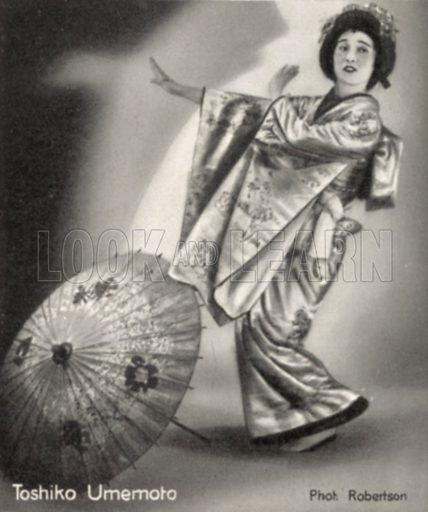 Toshiko Umemoto.