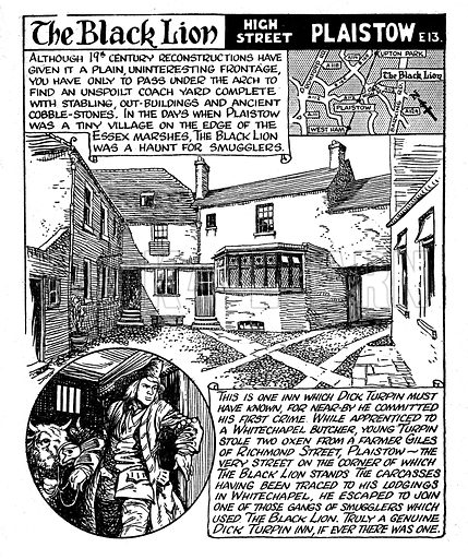 Comic illustration published in Somewhere to Go (c 1952). Copyright Associated Newspapers Ltd.